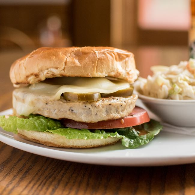 Texas Turkey Burger at C. Wiesler's Saloon & Eatery