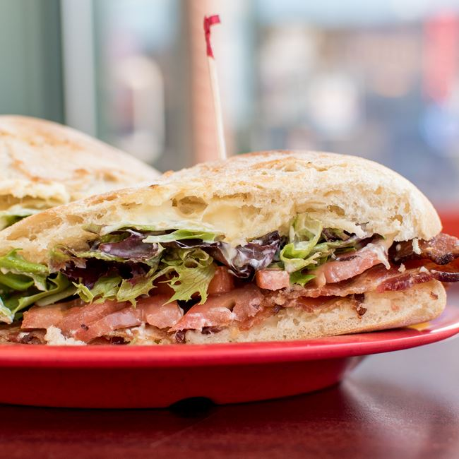 Firefly BLT at Firefly Coffeehouse & Artisan Cheese
