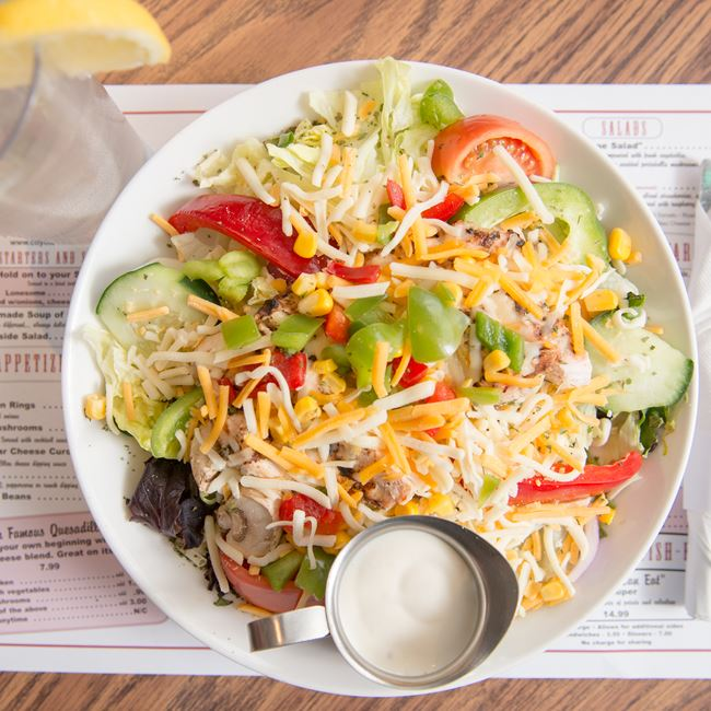 Garbage Salad at Coyote Roadhouse