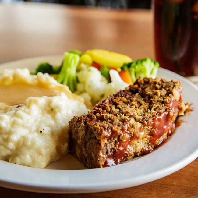 Meatloaf Dinner at Argus Bar & Grill