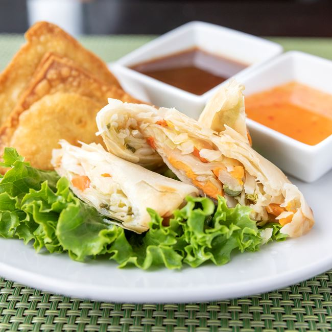 Philippine Vegetable Egg Roll at Manila Resto