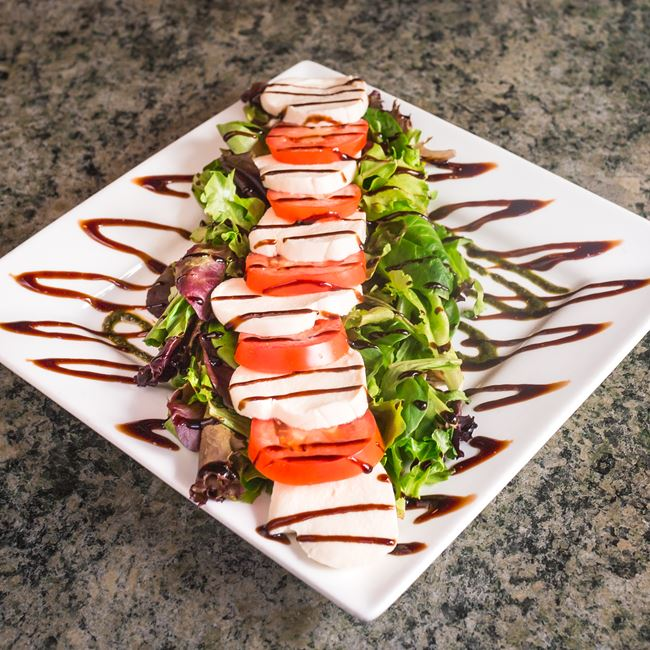 Caprese Salad at Tomaso's