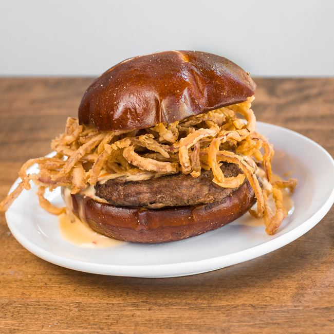 Goo Burger at Stilt House Gastro Bar