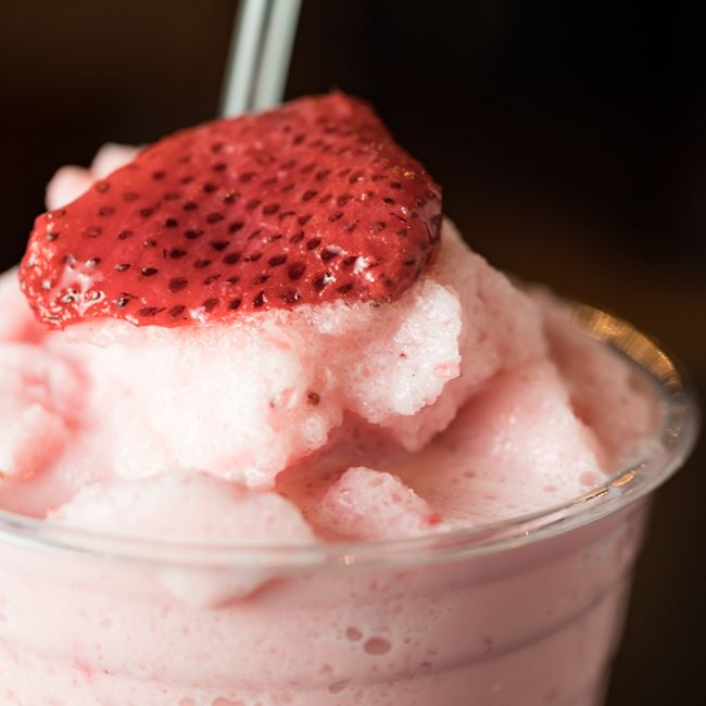 Strawberry Milkshake at Judy's Kitchen