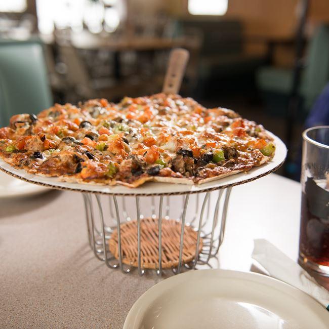 Thin Crust Pizza at Joe Jo's Pizza and Gelato