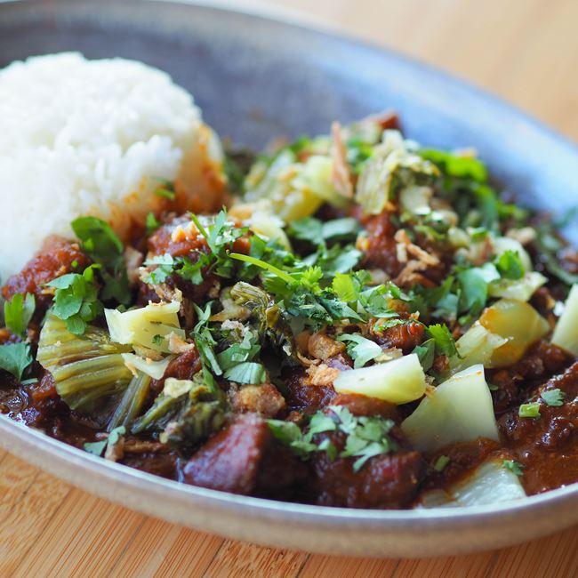 Pork & Squash Curry at Sujeo