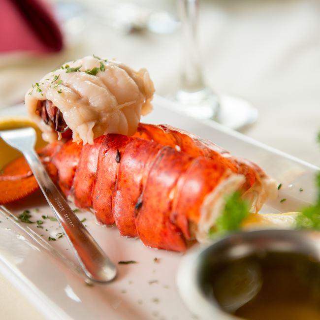 Lobster at The English Inn