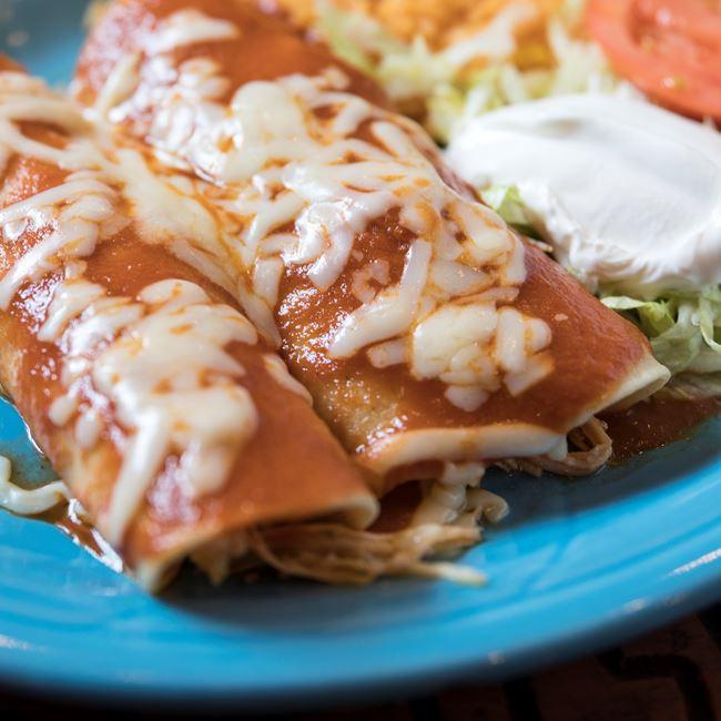 Enchiladas De Luxe at Los Jaripeos
