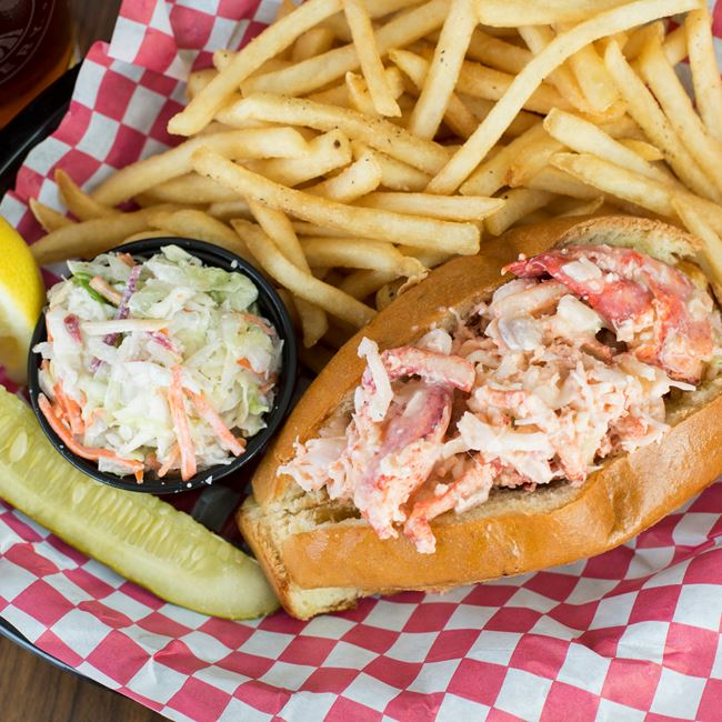 Boathouse Famous Lobster Roll