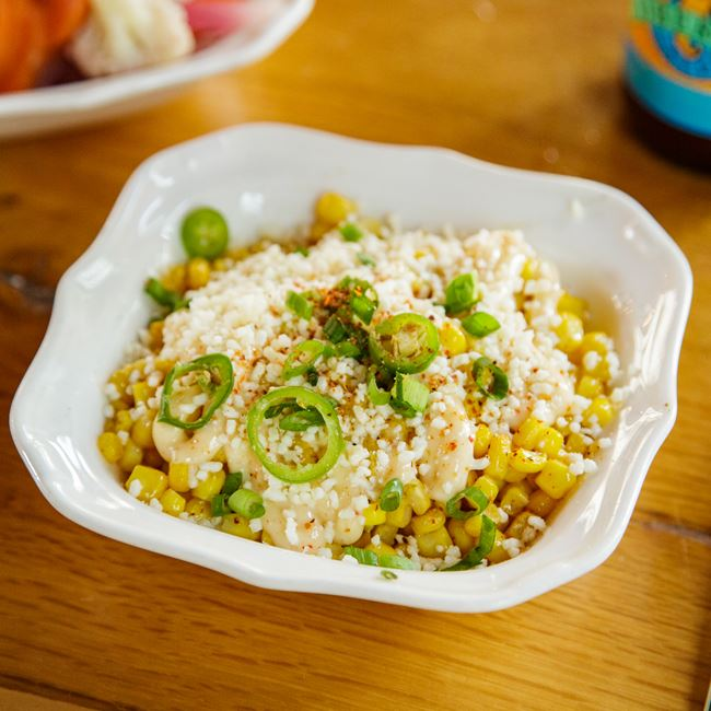 Mexican Street Corn at Canteen