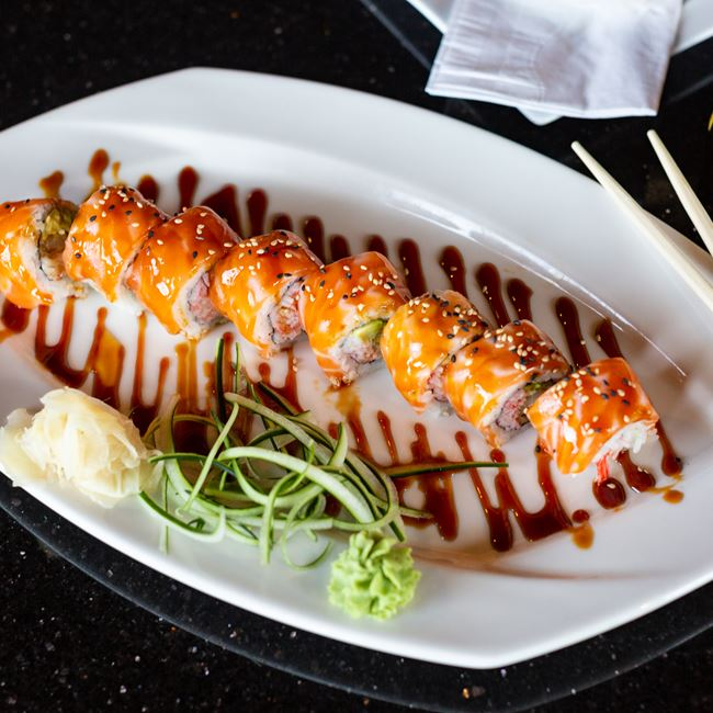 BMW Roll at Oriental Bistro & Grill