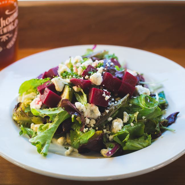 Beet Salad at Rockhound Brewing Company