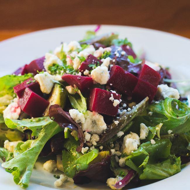 Beet Salad at Rockhound Brewing Company