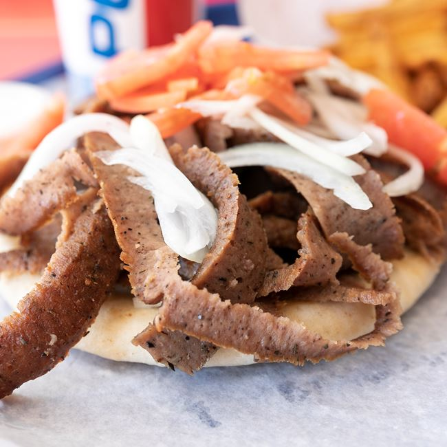 Gyro Sandwich at Niko's Gyros