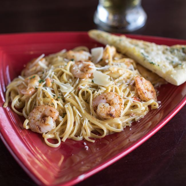 Tuscan Seafood pasta at Ground Round