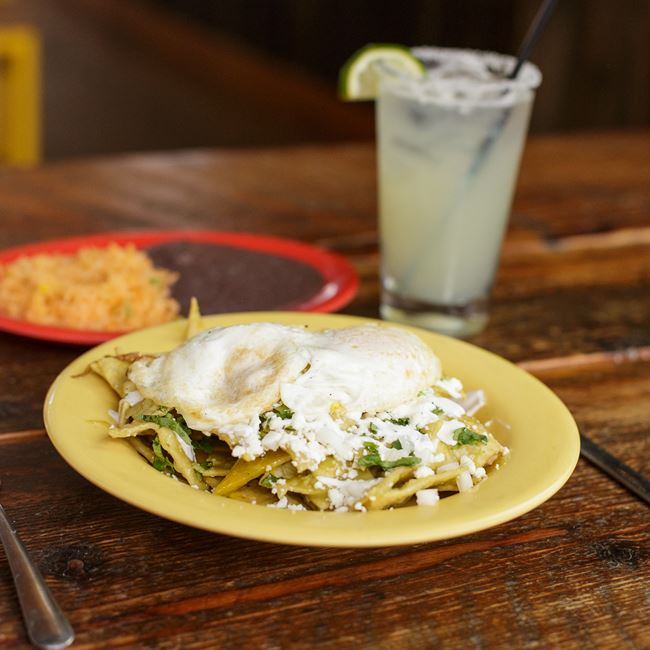 Chilaquiles Verdes at BelAir Cantina