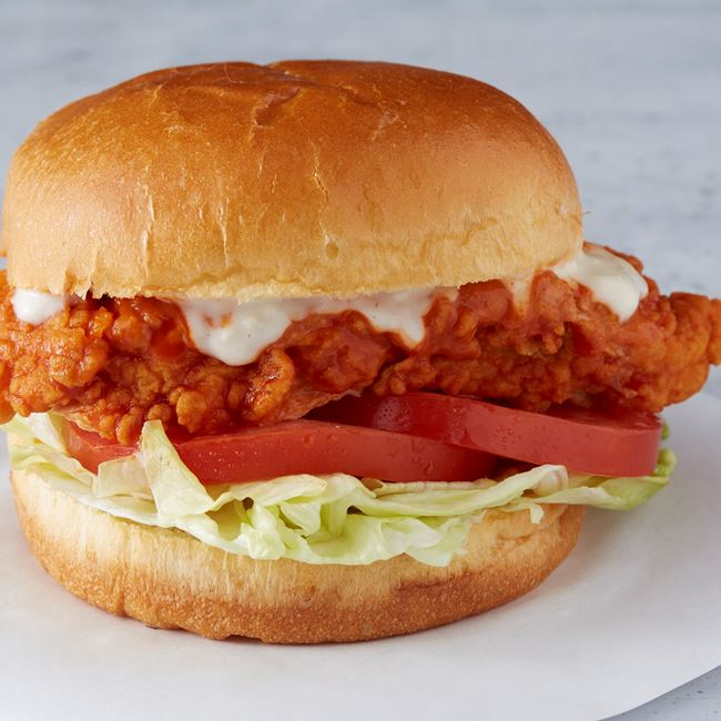 Buffalo Chicken Sandwich at Wings Over Rutgers