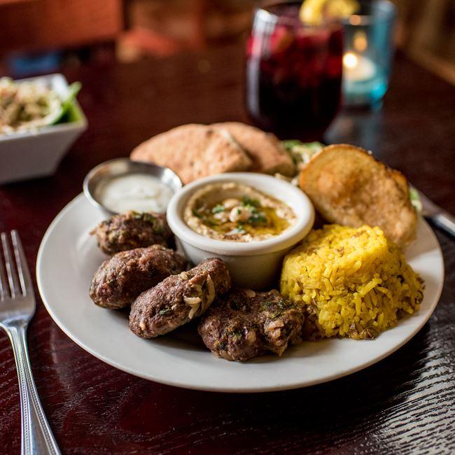 The Kebab Platter at Banzo