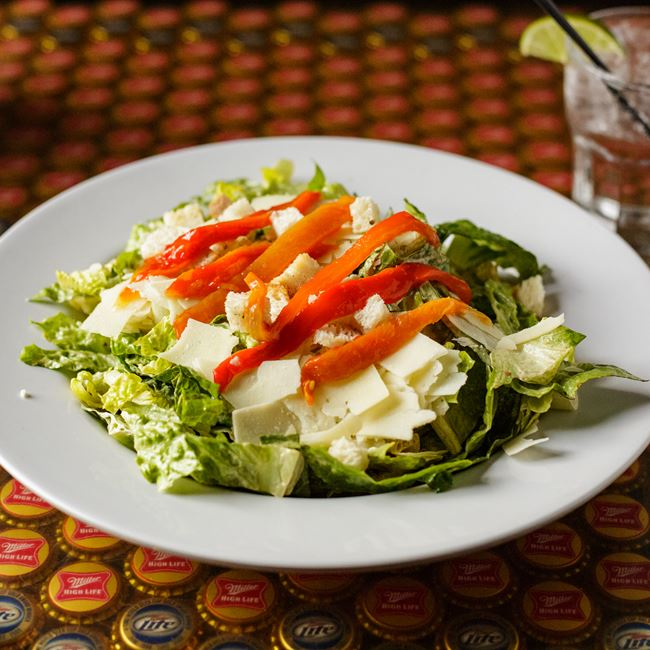 Chipotle Lime Caesar Salad at Vintage Spirits & Grill