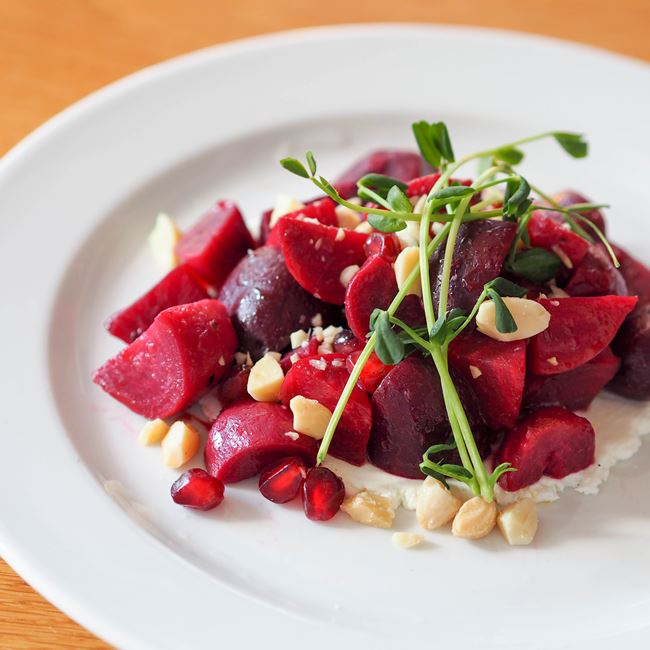 Roasted Beets at Graze