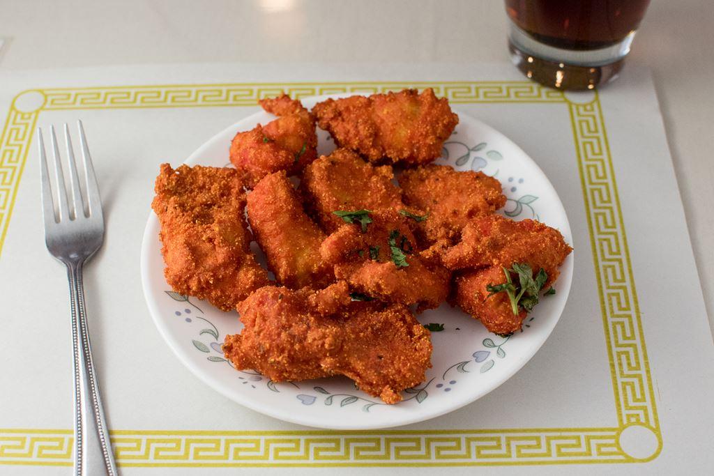 Fish Pakora (5 Pieces) - $8 95 - Maharani Indian Restaurant