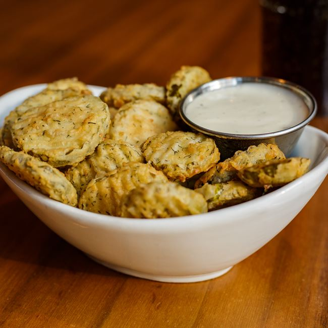 Fried Pickles at DLUX