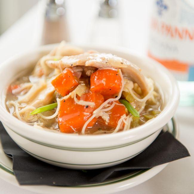 Chicken Noodle Soup at Barringer's Restaurant