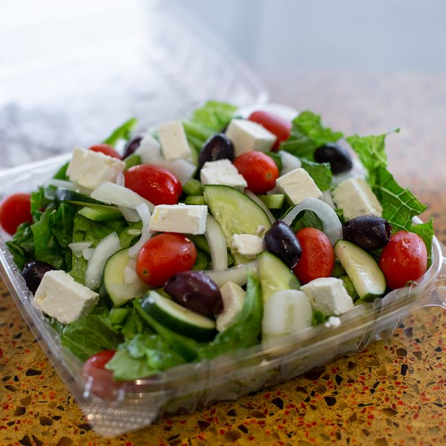 Greek Salad at Sarpino's Pizzeria