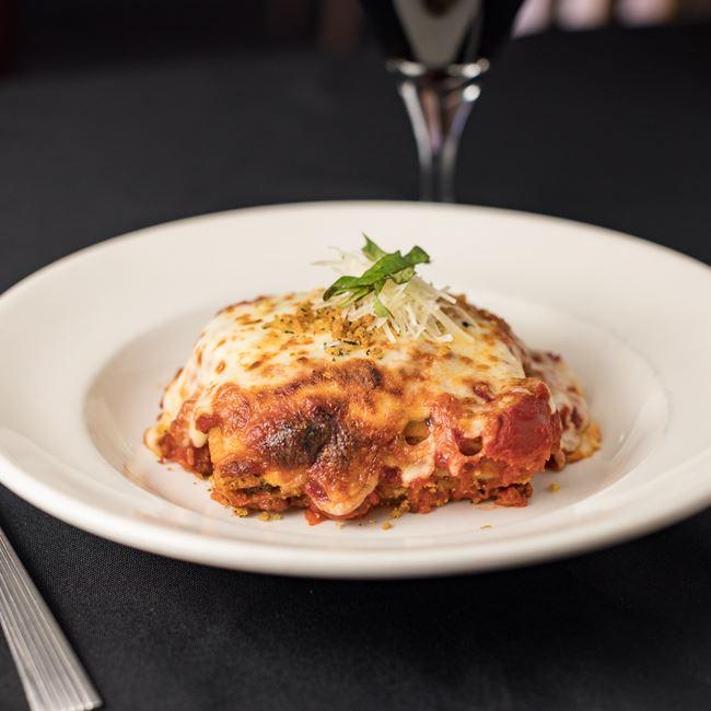 Lasagne Bolognaise at Draganetti's Ristorante